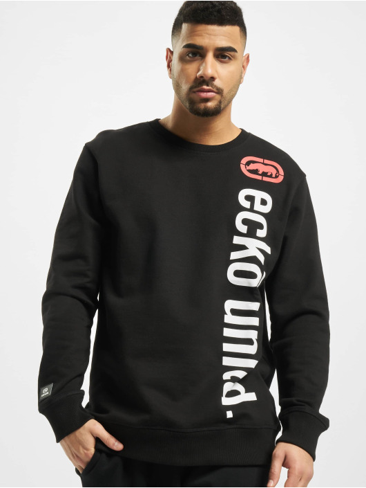 Ecko Unltd. Swetry 2 Face Crewneck czarny