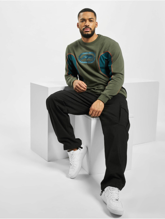 Ecko Unltd. Swetry Carlton oliwkowy