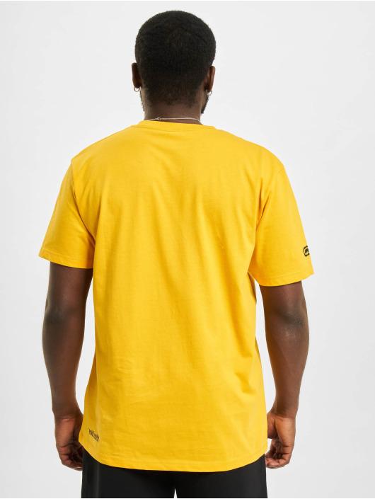 Ecko Unltd. T-paidat Base keltainen