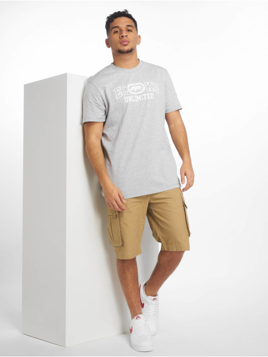 Ecko Unltd. T-Shirt Oil City grau