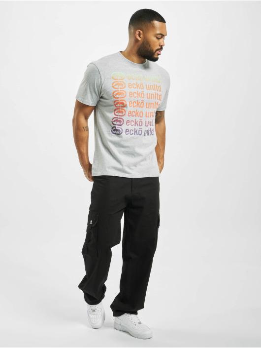 Ecko Unltd. T-Shirt Brisbane grau