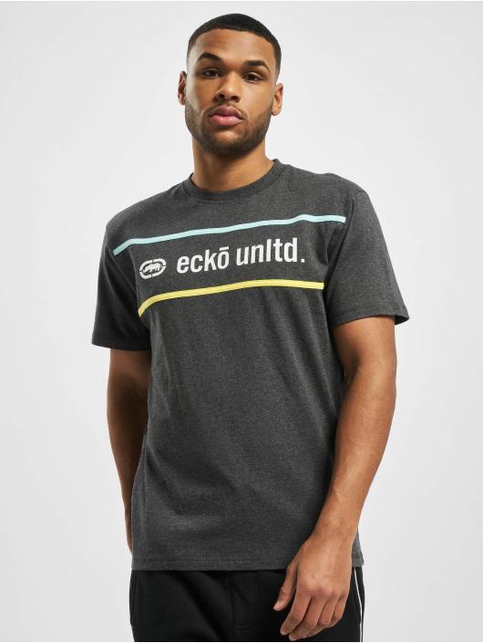 Ecko Unltd. T-Shirt Boort gris