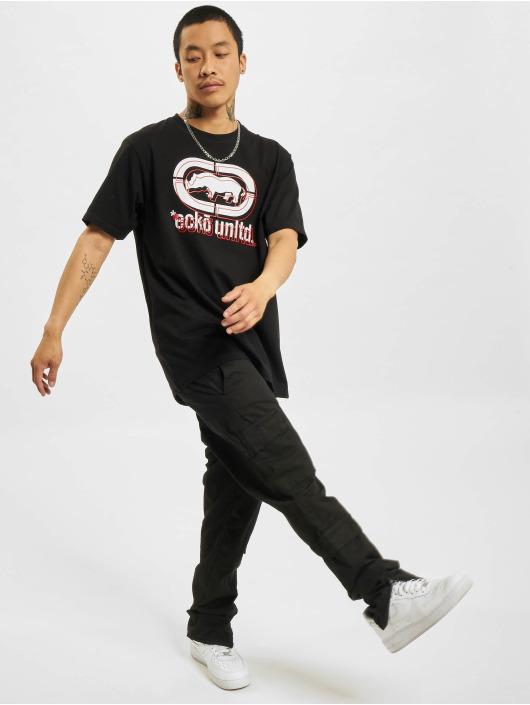 Ecko Unltd. T-Shirt Bendigo schwarz