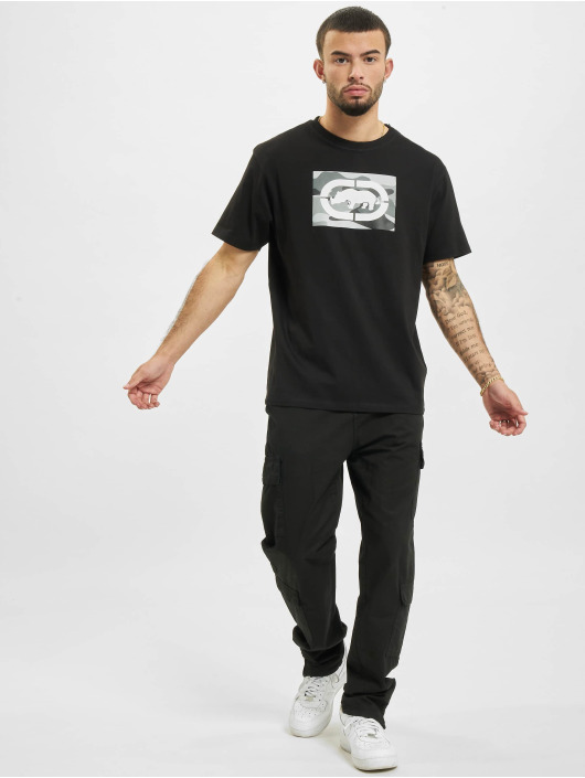 Ecko Unltd. T-Shirt Base schwarz