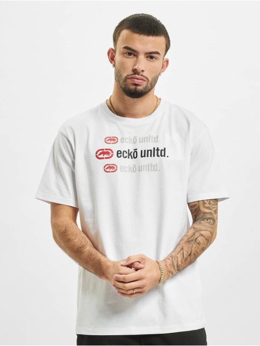 Ecko Unltd. T-Shirt Wilson weiß