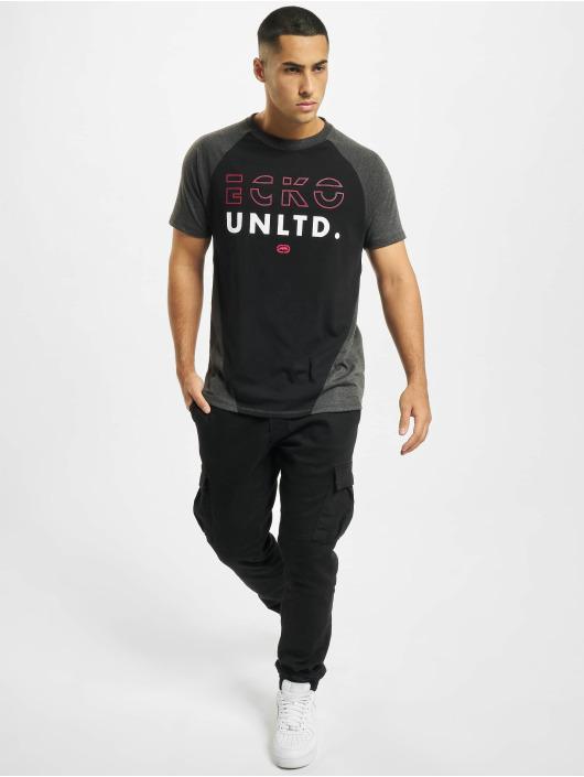 Ecko Unltd. t-shirt Cherry Hill zwart