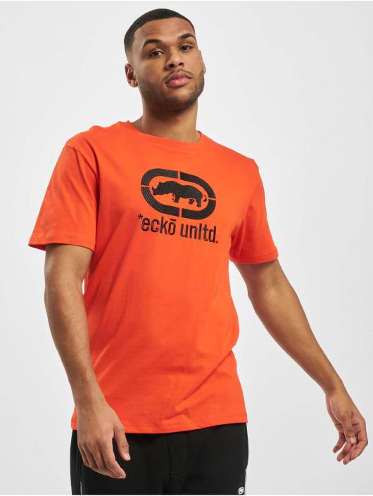 Ecko Unltd. T-Shirty Coober pomaranczowy