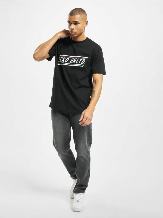 Ecko Unltd. T-skjorter Carlton svart
