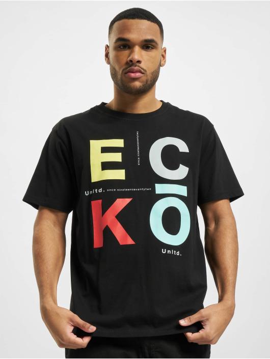 Ecko Unltd. Tričká Westlake èierna