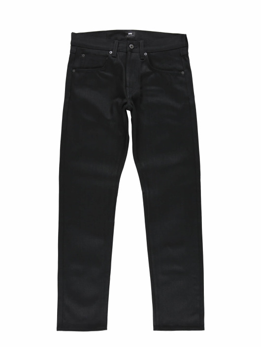 Edwin Straight Fit Jeans Ed-55 Regular schwarz