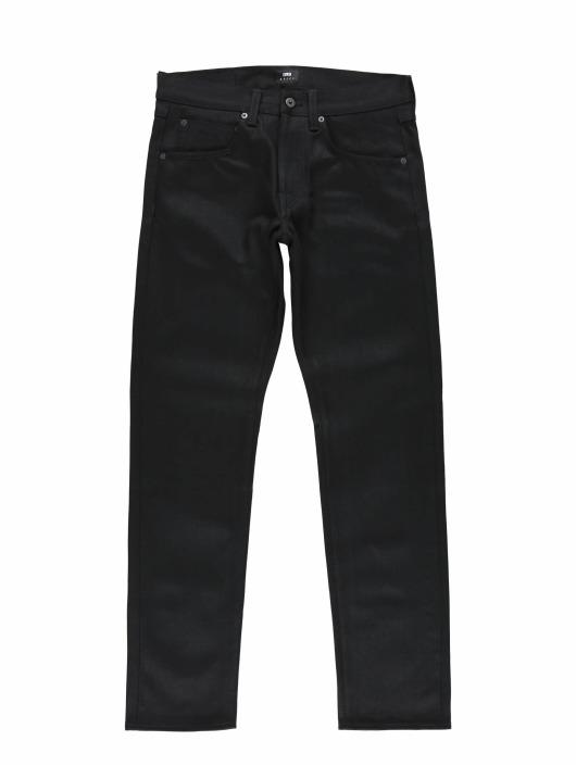 Edwin Straight Fit Jeans Ed-55 Regular svart