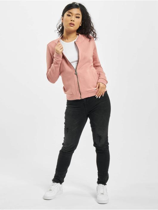 Eight2Nine Куртка-бомбардир Valentina розовый