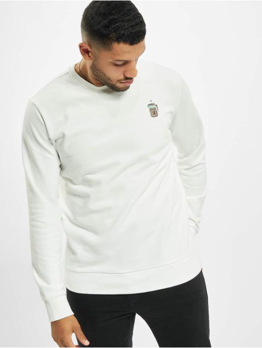 Eight2Nine Пуловер Logo белый