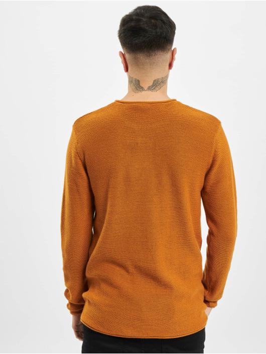 Eight2Nine Пуловер Lino коричневый