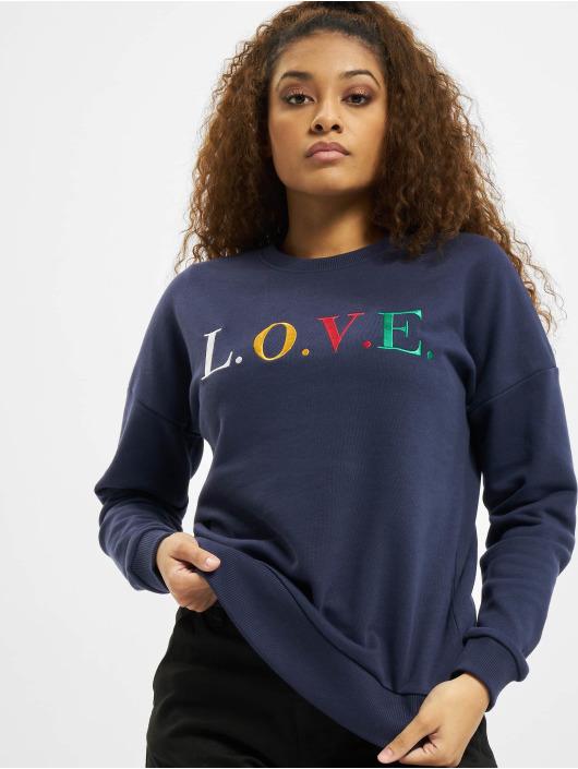 Eight2Nine Пуловер Love синий