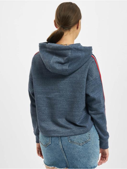 Eight2Nine Bluzy z kapturem Nora niebieski