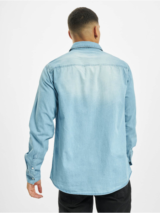 Eight2Nine Camisa Vintage azul