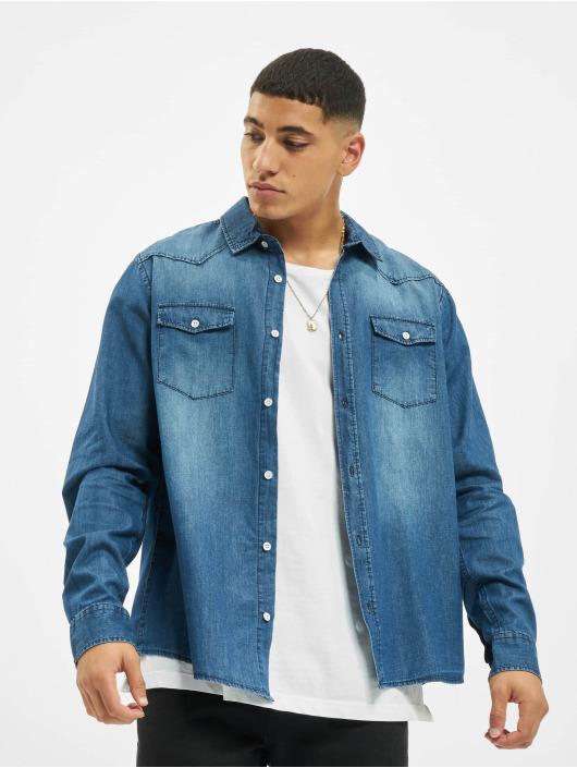 Eight2Nine Camisa Vintage Original azul