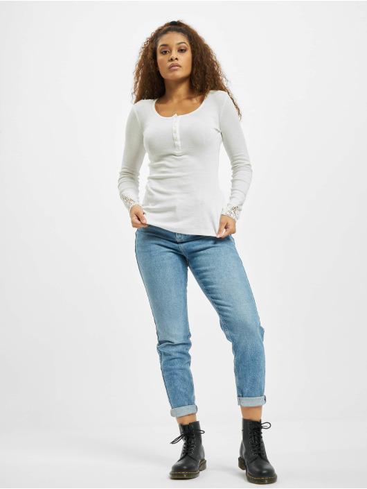Eight2Nine Camiseta de manga larga Tala blanco
