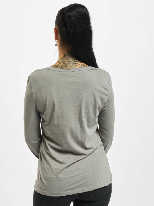Eight2Nine Camiseta de manga larga Eight gris