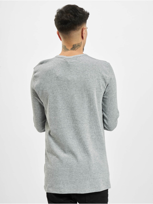 Eight2Nine Camiseta de manga larga Knit gris