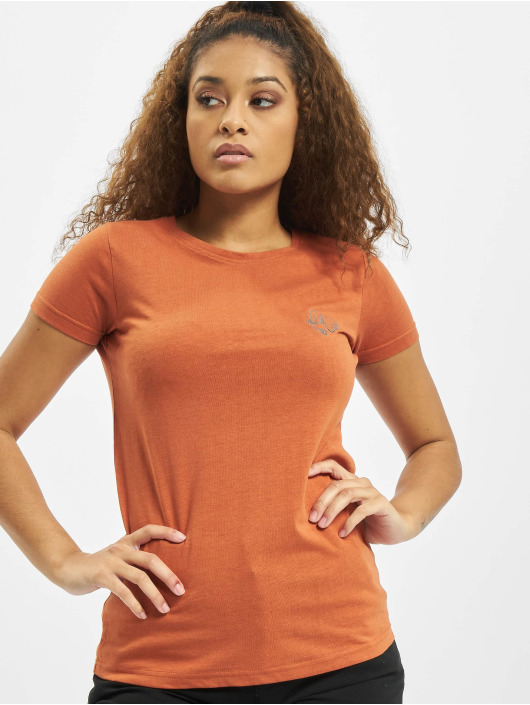Eight2Nine Camiseta Animal naranja