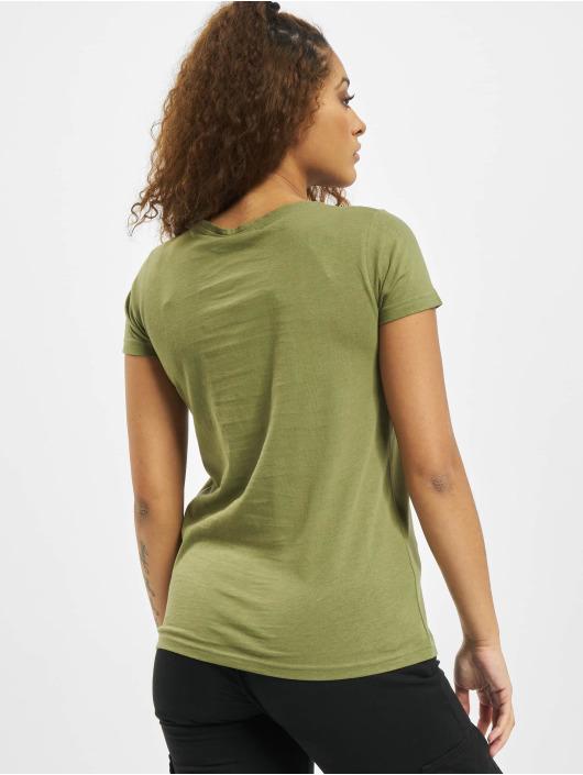 Eight2Nine Camiseta Animal oliva