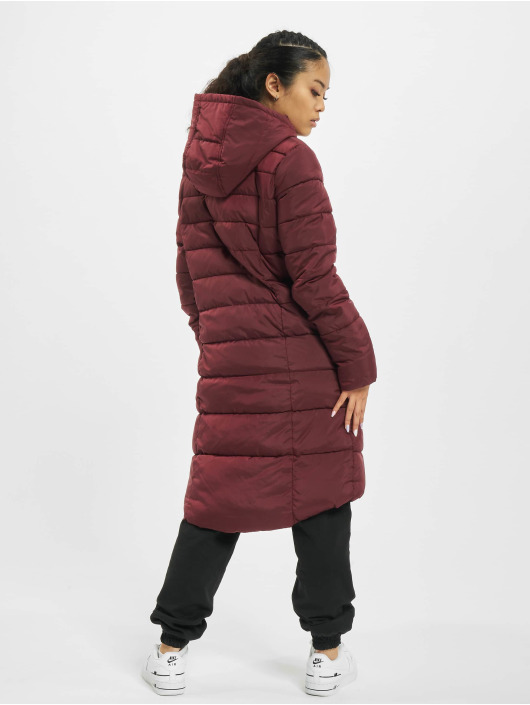 Eight2Nine Cappotto Qulited rosso