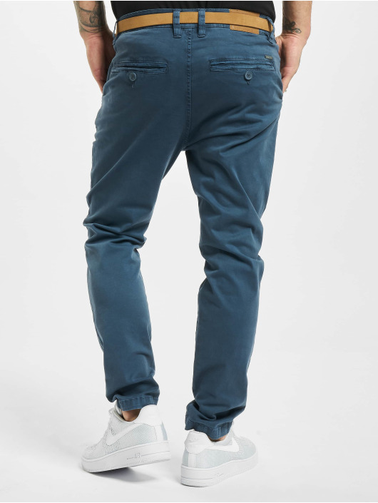Eight2Nine Chino Chase blau