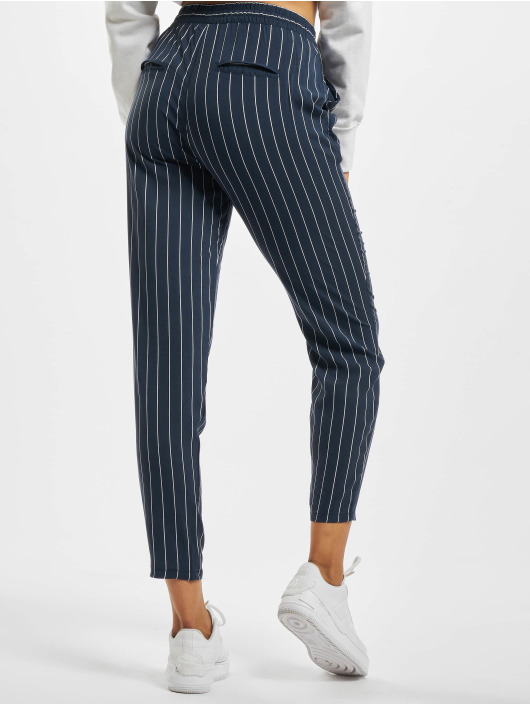 Eight2Nine Chino Pinstripe blauw