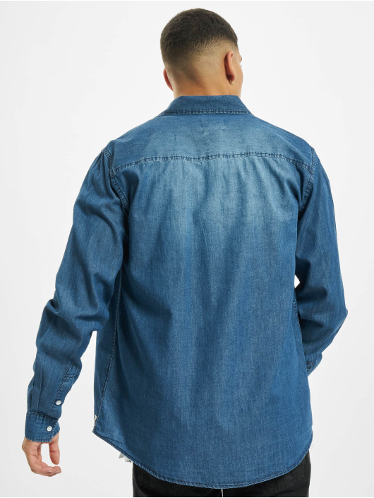Eight2Nine Hemd Vintage Original blau