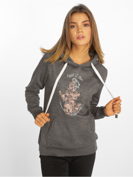 Eight2Nine Hoody Virve grau