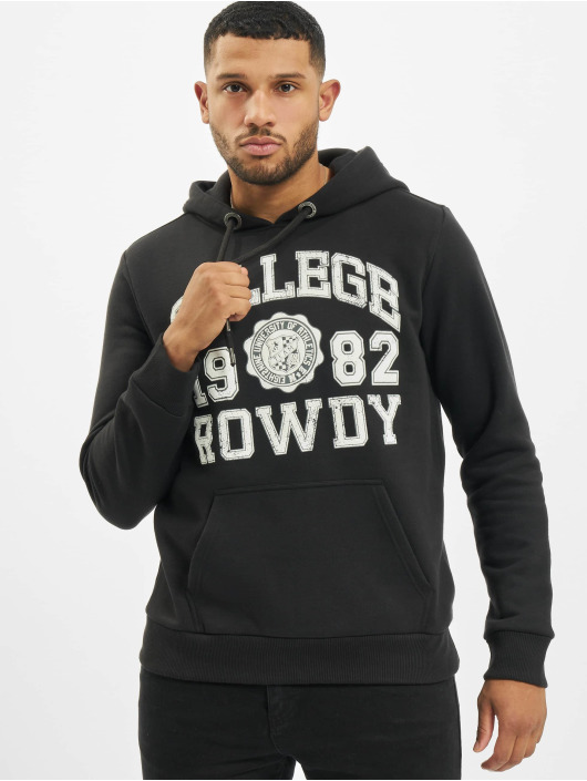 Eight2Nine Hoody College zwart