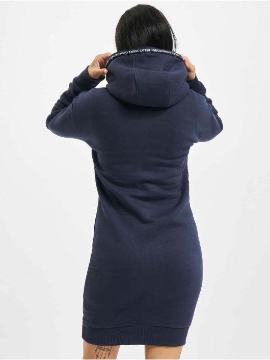 Eight2Nine Kleid Tape blau