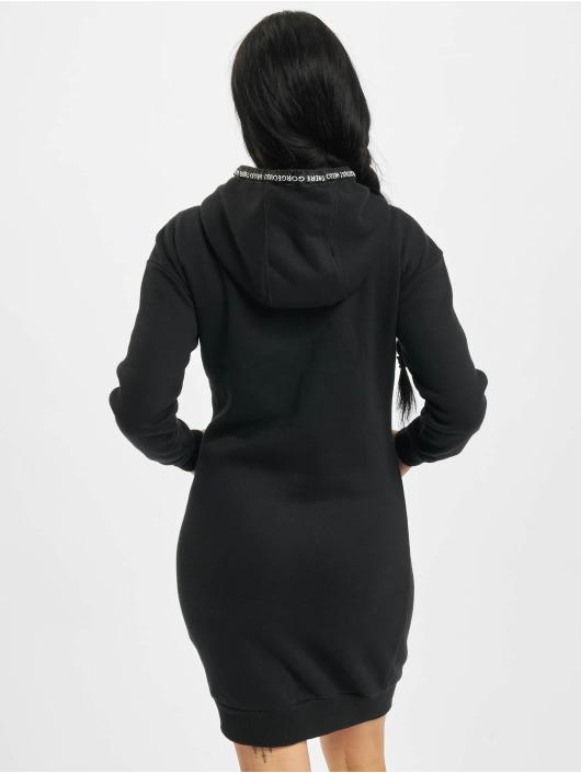 Eight2Nine Kleid Tape schwarz