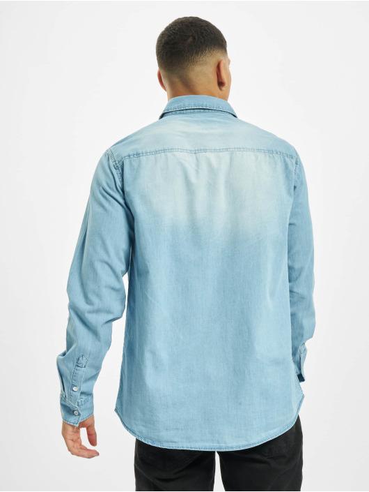 Eight2Nine Košile Vintage modrý