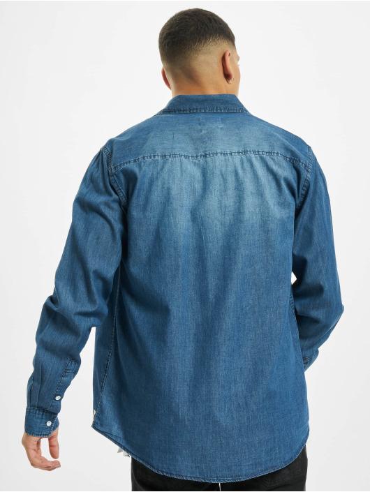 Eight2Nine Košile Vintage Original modrý