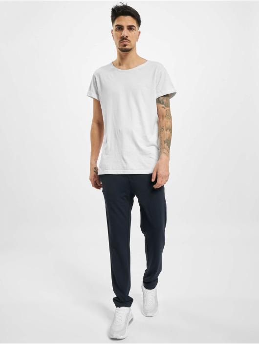Eight2Nine Látkové kalhoty Chino modrý