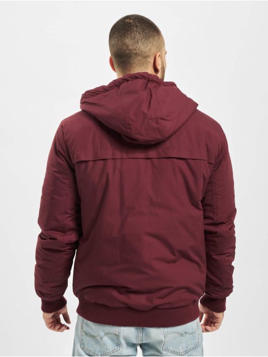 Eight2Nine Lightweight Jacket Hooded red