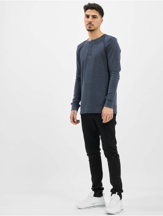 Eight2Nine Longsleeves Knit niebieski