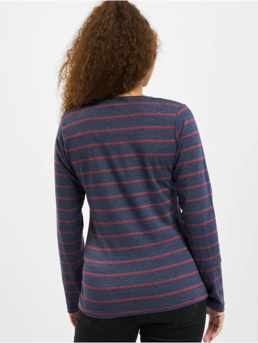 Eight2Nine Maglietta a manica lunga Stripes blu
