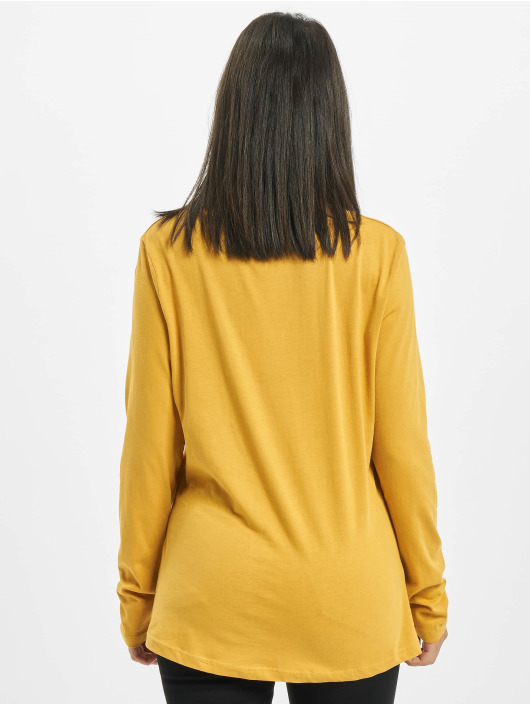 Eight2Nine Maglietta a manica lunga Eight giallo