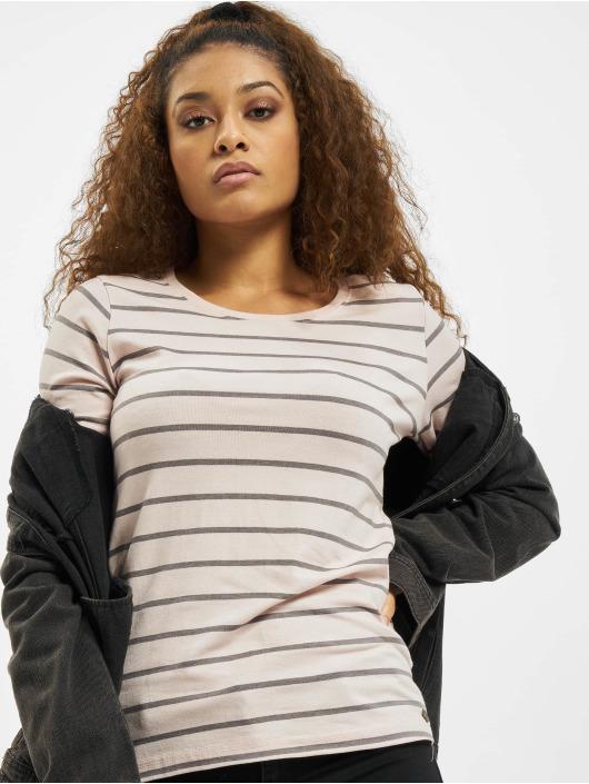 Eight2Nine Maglietta a manica lunga Stripes rosa chiaro