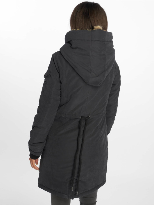 Eight2Nine Manteau hiver Velenora noir