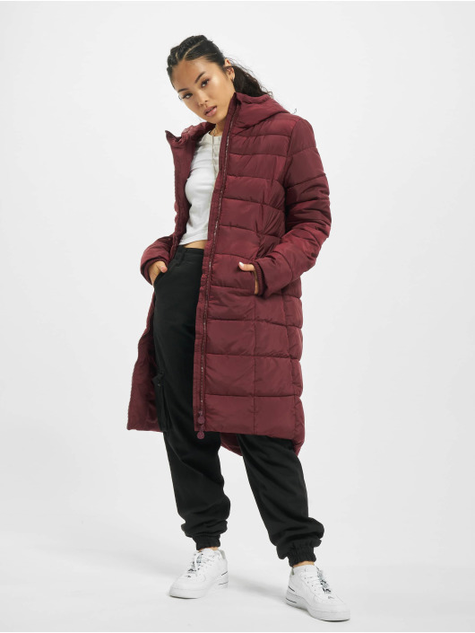 Eight2Nine Manteau Qulited rouge