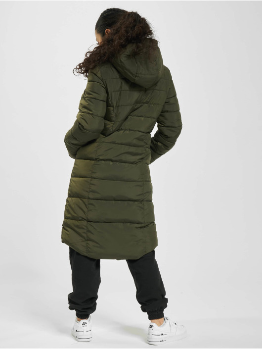 Eight2Nine Manteau Quilted vert