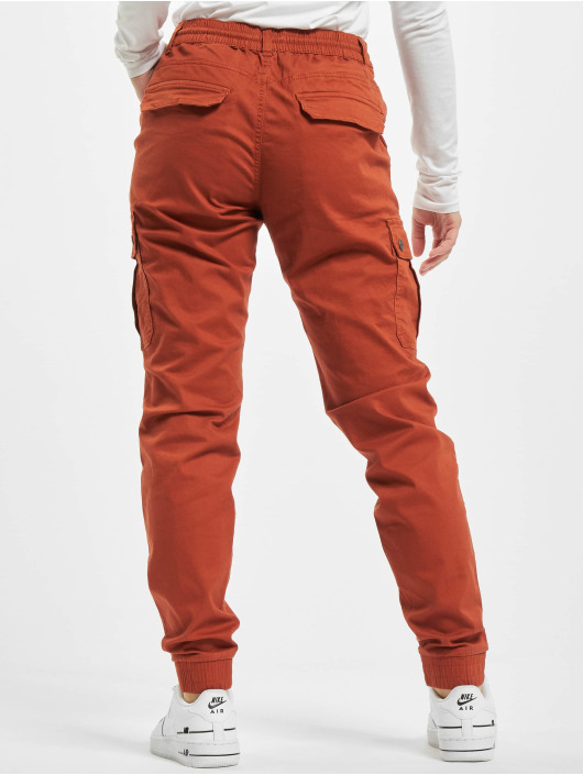 Eight2Nine Pantalon cargo Anna rouge
