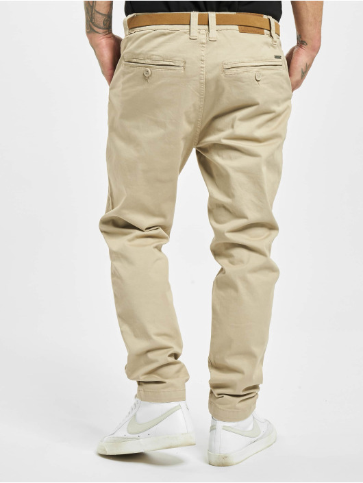 Eight2Nine Pantalon chino Chris beige