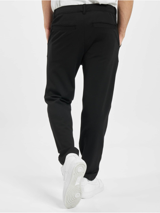 Eight2Nine Pantalon chino Basic noir