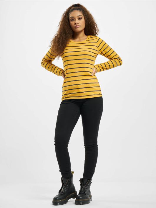 Eight2Nine Pitkähihaiset paidat Stripes keltainen